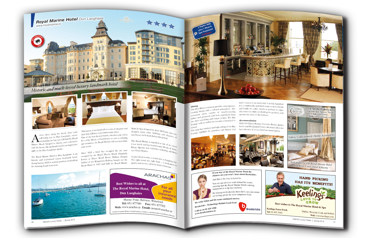 Ireland's Luxury Hotels Preview Spread